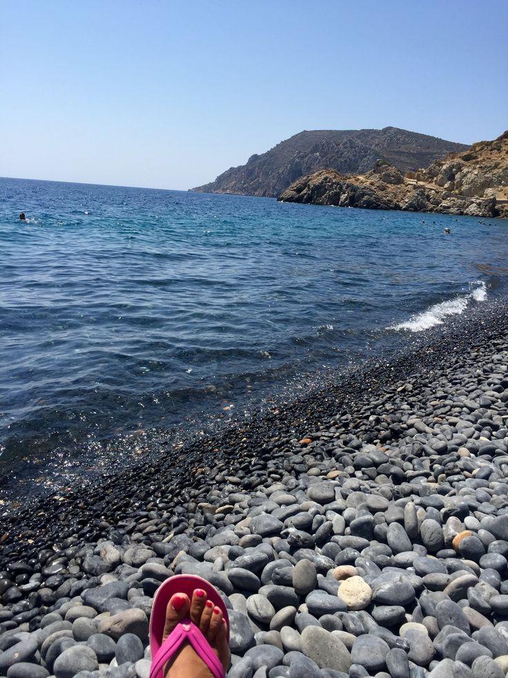 Black beach Μαύρα βόλια  Chios Greece