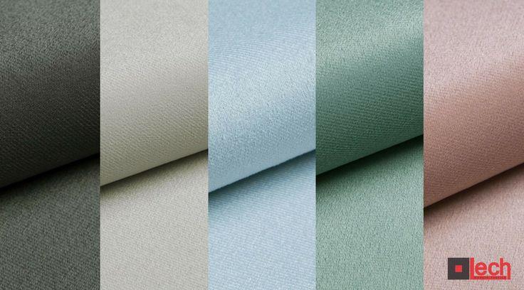 NOWOŚĆ! ARIA to niezwykle miękka, aksamitna i delikatna w dotyku tkanina meblowa.  Wszystkie kolory dostępne na stronie: http://bit.ly/2qZD5aj