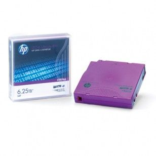 The #HP C7976A offers the largest native capacity of 2.5 TB and the fastest transfer speed of 160 MB/s.