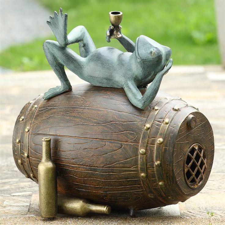 SPI Garden Collection Connoisseur Frog Garden Sculpture