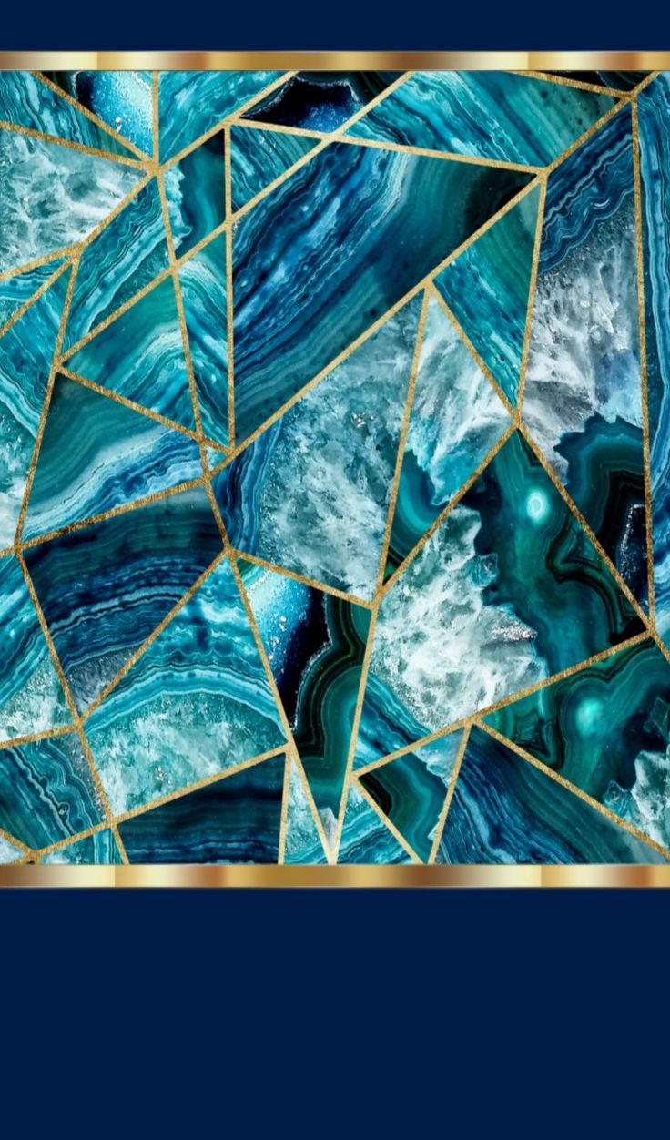 Blue and Gold | Abstract HD Wallpapers 5