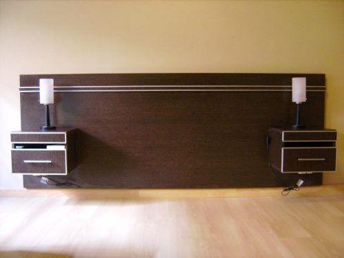 M s de 25 ideas fant sticas sobre cabeceras de cama for Camas en madera economicas