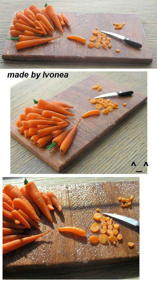 Fimo carrots