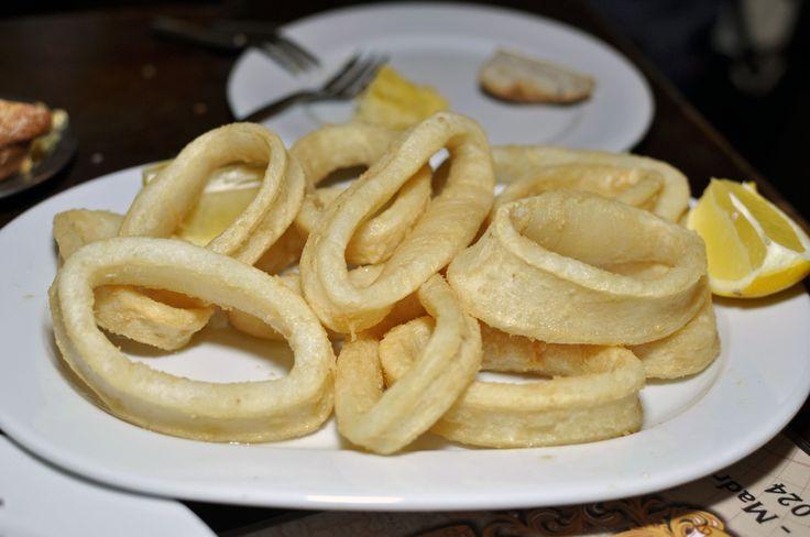 In my Madrid patatas bravas always go with sangria...