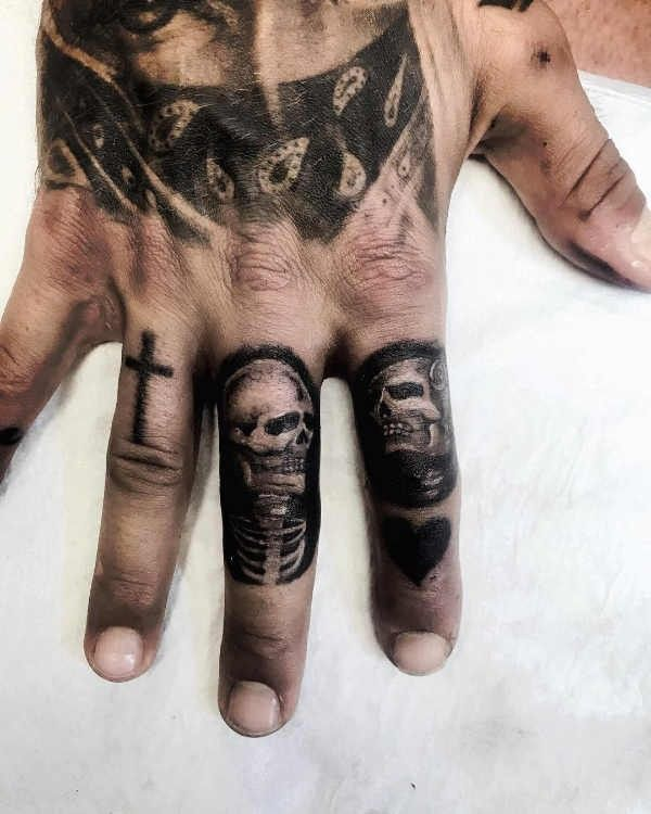 Doodskop Tattoo Betekenis En Oorsprong 80x Tattoo