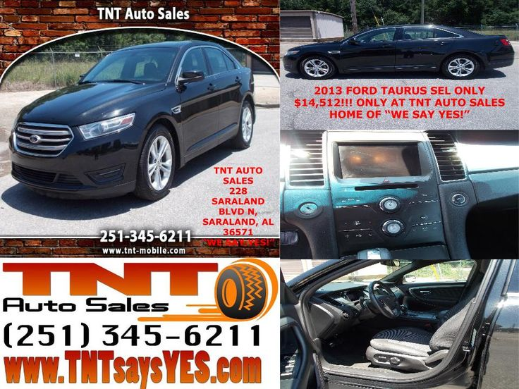 2013 FORD TAURUS SEL ONLY $14,512!