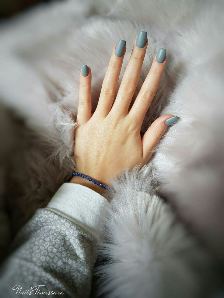 #nails #gray #coffin