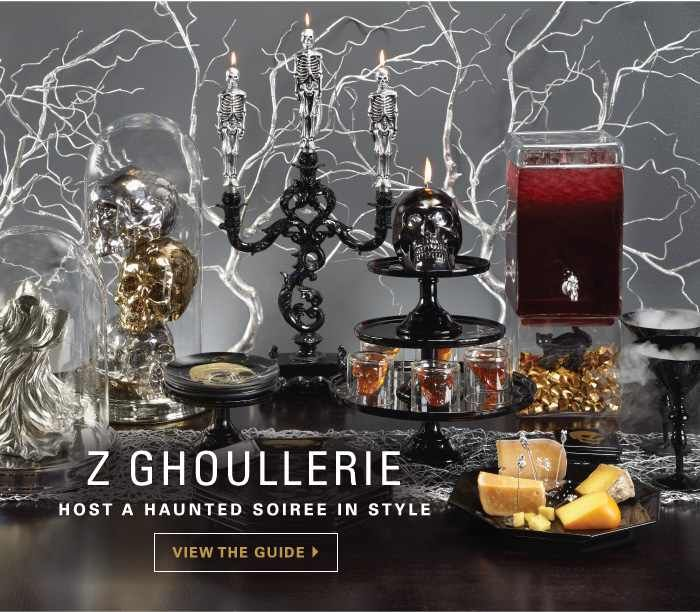 lots of ideas for halloween entertaining table decor here love those painted silver branches in the background
