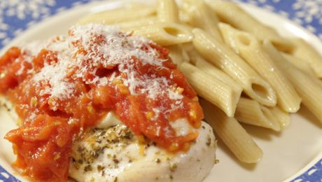Aoife's Chicken Parmesan