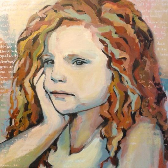 Saskia Obdeijn - Roodharig meisje