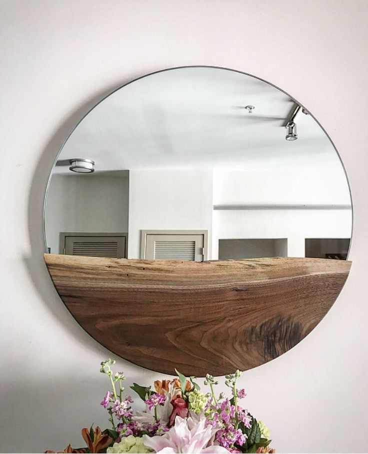 How To Hang Bathroom Mirror: 25+ Best Ideas About Large Round Mirror On Pinterest