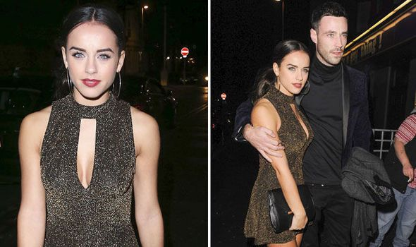 Georgia May Foote and Sean Ward at the Strictly Come Dancing after party in Blackpool