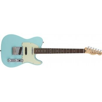 Fender Deluxe Nashville Telecaster - Daphne Blue, Rosewood Fingerboard - Electric Guitars - Right Handed - Electric Guitars - Guitars & Amps | Cosmo Music