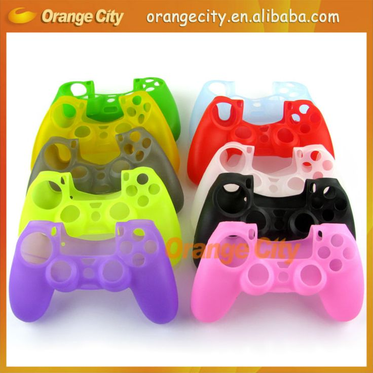 Silicone Skin Cover Case Protection Skin For SONY Playstation 4 PS4 Dualshock 4 Controller $0.8~$1