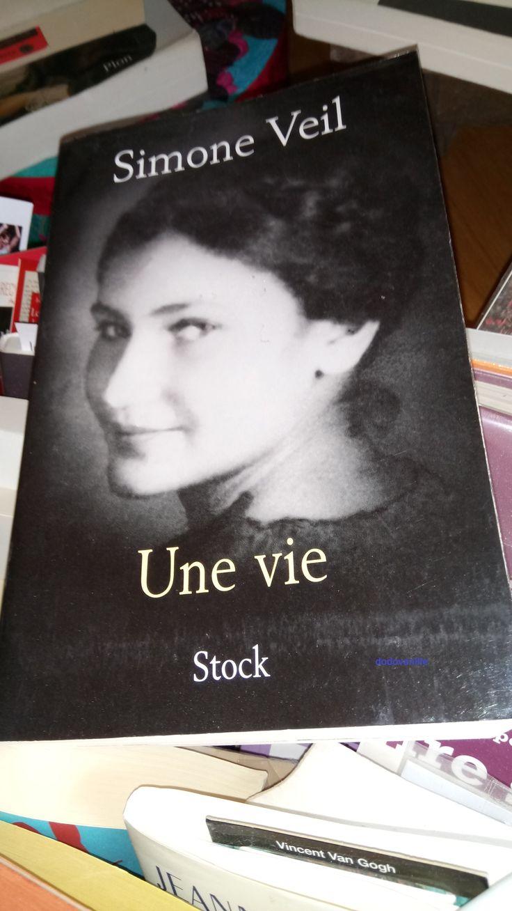 """Hommage à une Grande Dame """"Une Vie"""" Simone Veil"""