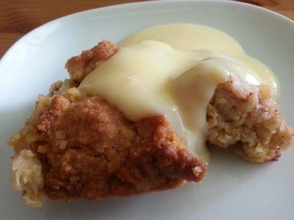 Citroner och Makaroner - En blogg om bakning och matlagning!  Äppelpaj med mycket deg!