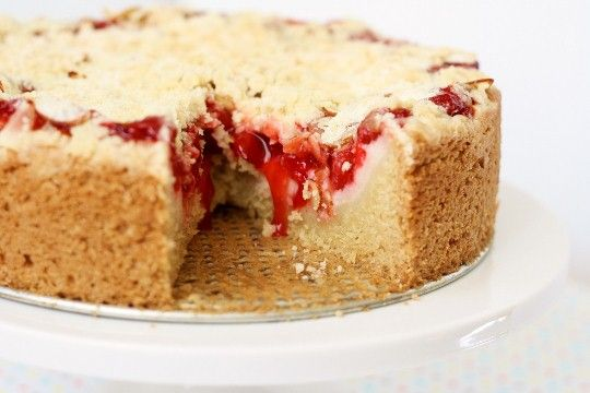 Cherry Cream Cheese Coffee Cake | Veeeeeegan... | Pinterest