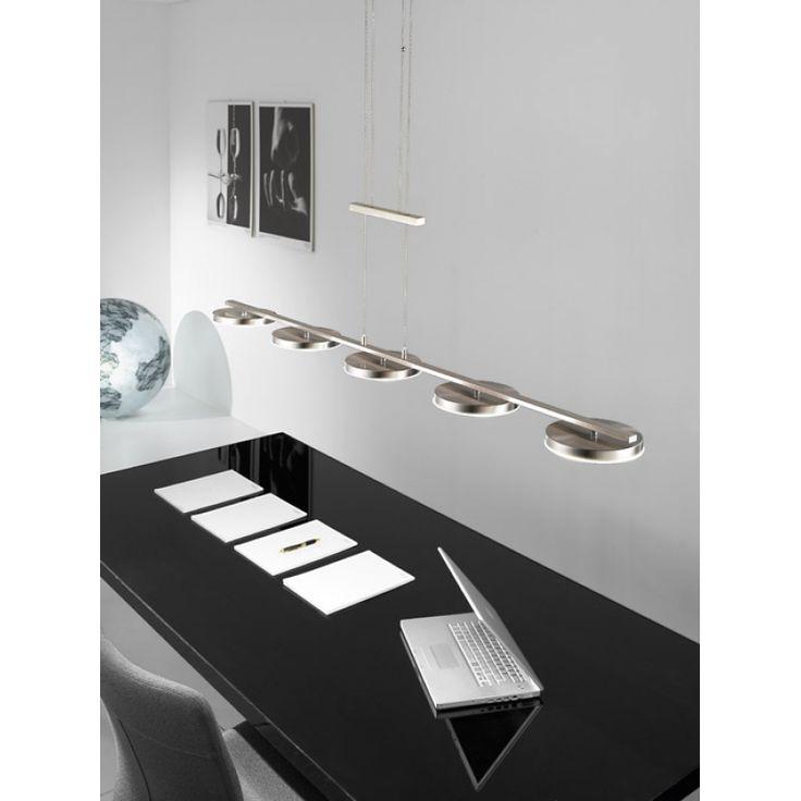 Kolarz LED Pendelleuchte Rondo Nickel Matt Wunderschne Leuchten Von Aus Sterreich Kolarzleuchten