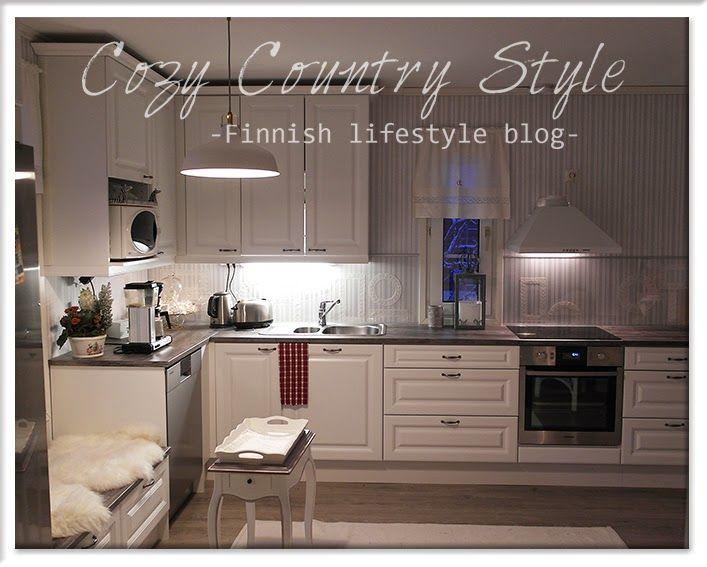 Cozy Country Style -Finnish lifestyle blog: Uuden keittiön sisustus