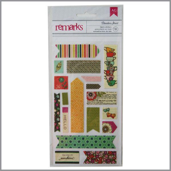 Stickers de genero - Tags SoHo Garden 18 unid.