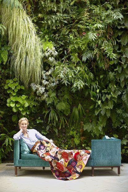 PHOTO CREDIT Stacey Van Berkel-HainesGuns, Living Wall, Green Wall, Stacey Vans, Long Skirts, Gardens Wall, Vertical Gardens, Laura Vinroot, Wall Gardens