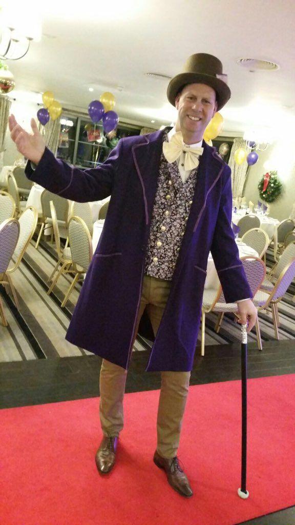 Paragon Plc Christmas Party 2016 - Willy Wonka!