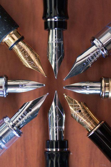 Estas canetas tinteiro. | 25 fotos extremamente agradáveis para apaixonados por papelaria
