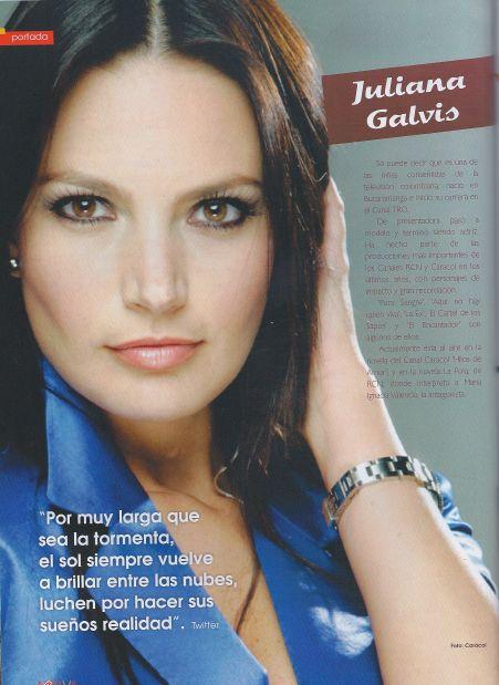 Juliana Galvis, revista Activa