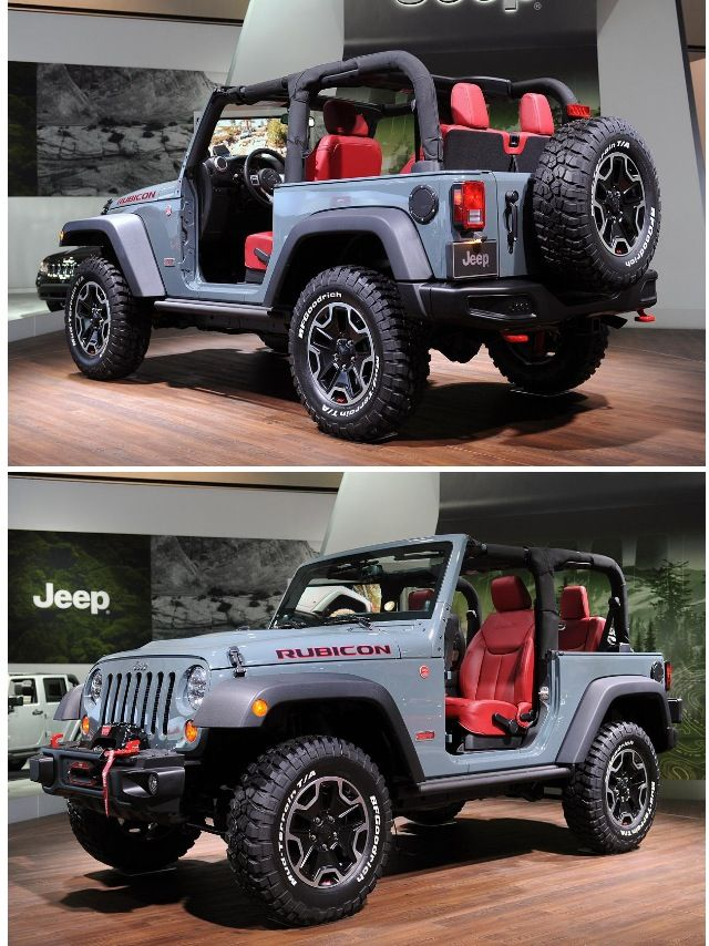 C'mon, a girl's gotta go off-road (& off-insanely costly rides) sometime!!! 2013 Jeep Rubicon 10 year anniversary edition.. I Love this jeep except would want a 4 door one.