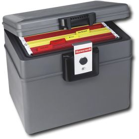 Get yourself a Waterproof Fire-Resistant File Chest. It is convenient for storing your SS/medical cards, mortage docs, current home/auto/life/flood insurance policies, Wills, current utility statements, vehicle registration, marriage license, divorce docs, military docs, birth certificates, 1 current photo of each household member, list of medications & dosages, pet medical docs, etc. and it is easy to lift in the event of an evacuation. Be sure the documents you store inside are current. (I…
