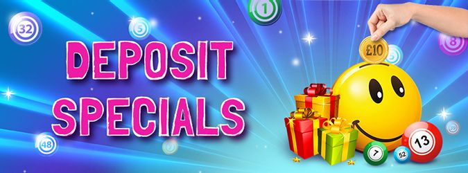 Deposit Special free cash - to play bingo online, mobile bingo and slots - only on the gravy train at https://www.gravytrainbingo.com
