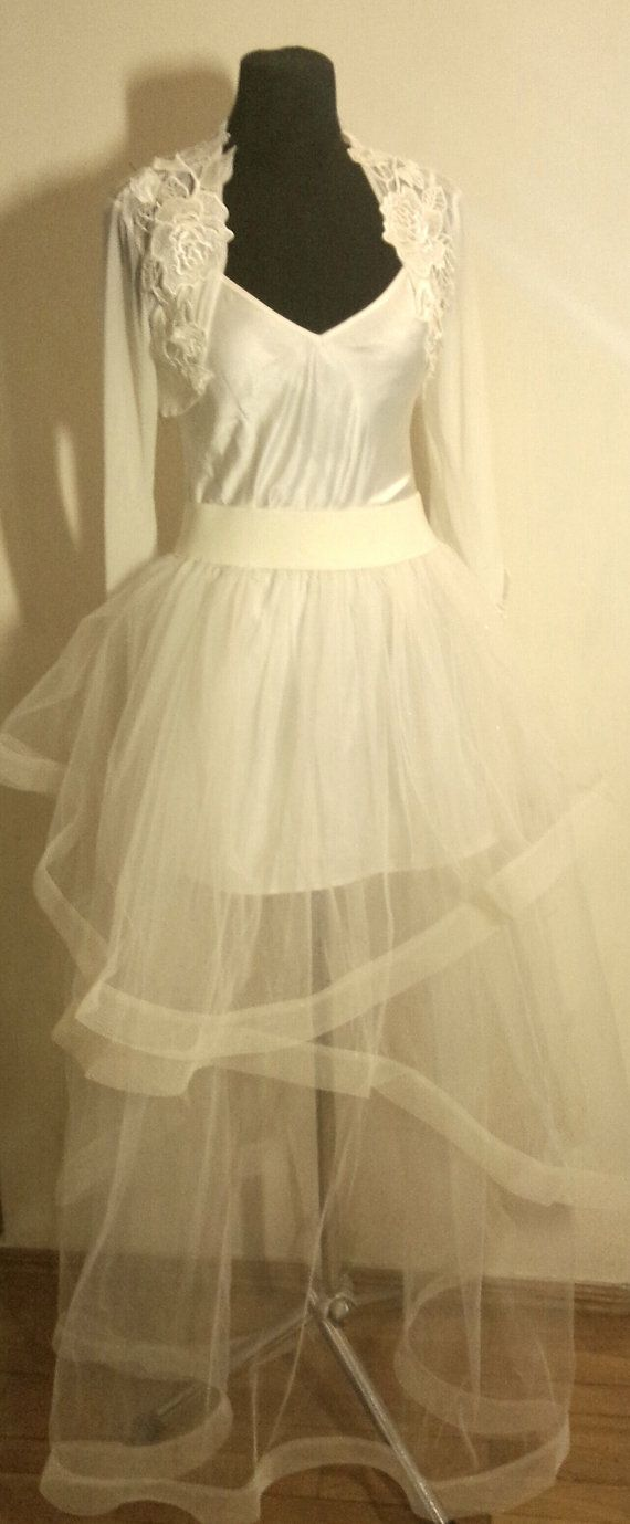 Tulle wedding skirt tulle overskirt wedding skirt  by LuxuriaFata