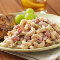 ROTEL Zesty Tuna Pasta Salad Recipe: This creamy salad is an easy recipe to whip up on the go.