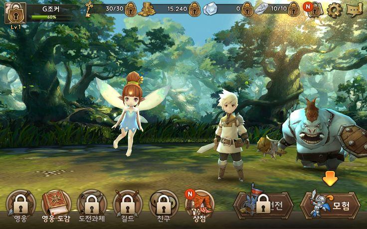 RPG게임 추천 크리스탈하츠 for Kakao 프리드로우 SD캐릭터 지급까지? : 네이버 블로그