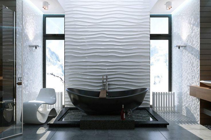 Отличный вариант интерьер дизайна ванной комнаты  #москва #новостройка #дизайн #сантехника