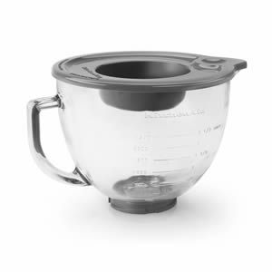 Kitchen Aid 4.8L Glass Bowl - (KAID5K5GB) - eCookshop