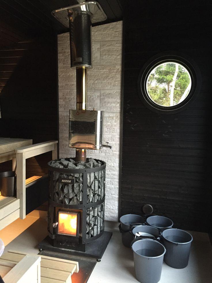 Strandbastu - Sauna - Black