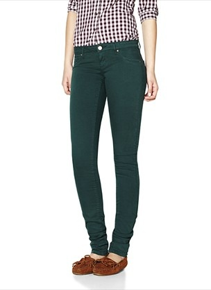 dark green womens pants - Pi Pants