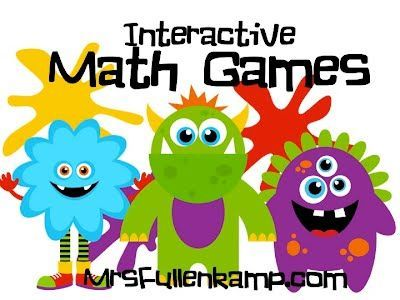 Interactive Math Games.    HUNDREDS of FREE math games and activities divided into 26 math categories including, counting, addition subtraction, multiplication, division, measurement, perimeter, geometry, and story problems. Perfect for SMART boards, computer labs and at home practice