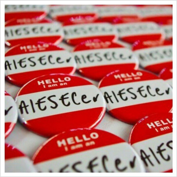 Become a part of AIESEC -- I DID IT ON 10.13. AND I COULDN'T BE HAPPIER! ;)