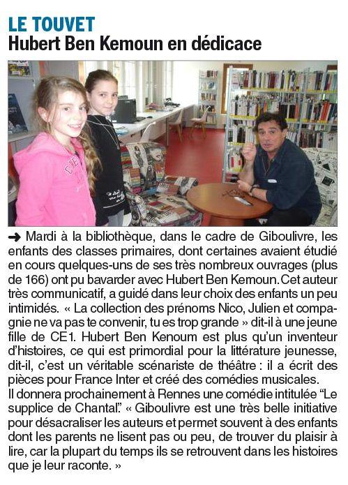 Articles de Presse - Le Touvet