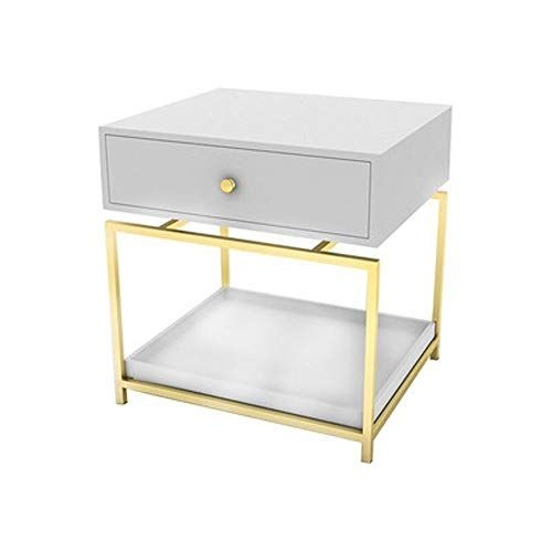 Nbcmnj European Light Luxury Bedside Table Modern Minimalist Bedroom Bedside Small Cabinet Nordic Mi Luxury Bedside Table Simple Bedroom White Bedside Cabinets