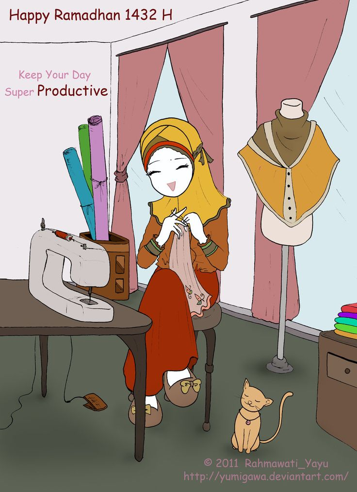 Happy Ramadhan 1432 H by yumigawa.deviantart.com on @DeviantArt