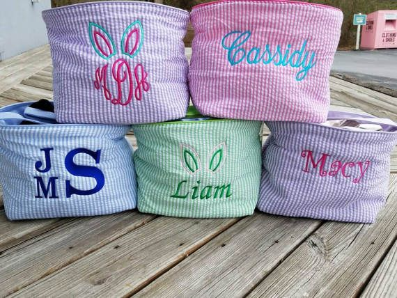 Hey, I found this really awesome Etsy listing at https://www.etsy.com/listing/265506872/easter-basket-monogrammed-easter-basket