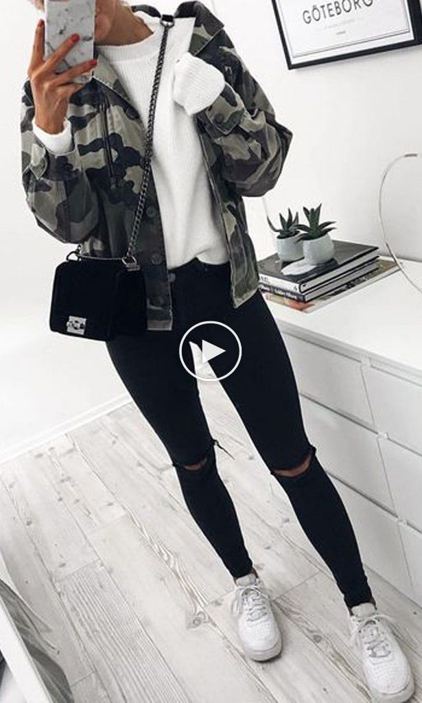 Cute Casual Fall Back To School Outfits Ideas For Teens For