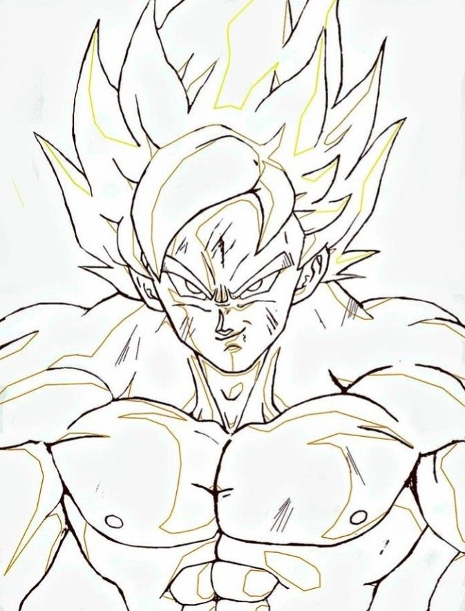 Goku Ssj Dragon Ball Z Dragon Ball Super Anime Character Design
