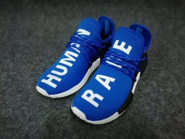 Adidas Human Race NMD Unisex Royal Blue White Shoes,buy discount $60 WhatsApp:8613328373859