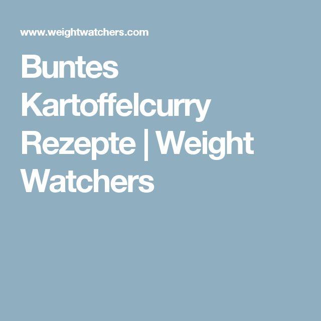 Buntes Kartoffelcurry Rezepte | Weight Watchers