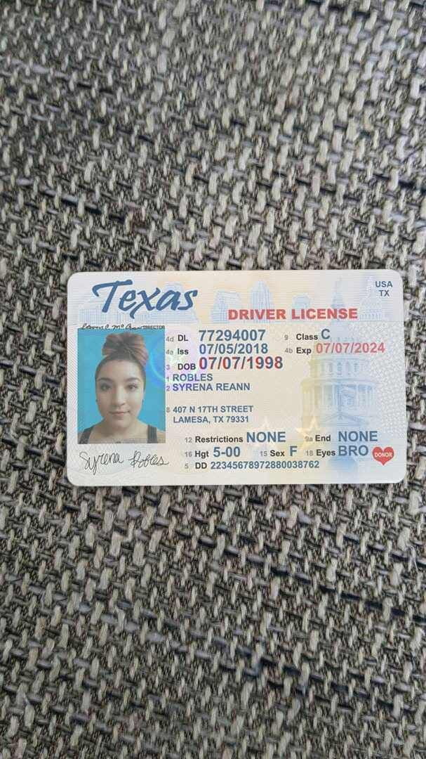 what documents needed for drivers license texas
