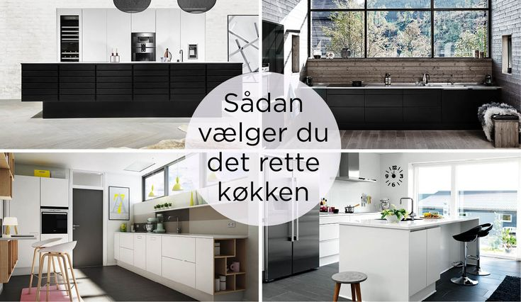 Guide: Sådan vælger du det rette køkken